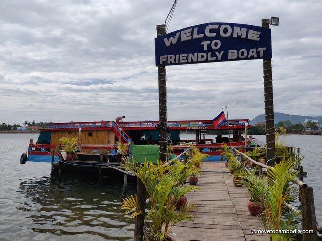 Kampot boat cruises
