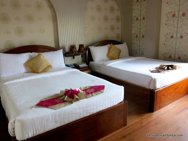 King Fy Hotel Battambang room