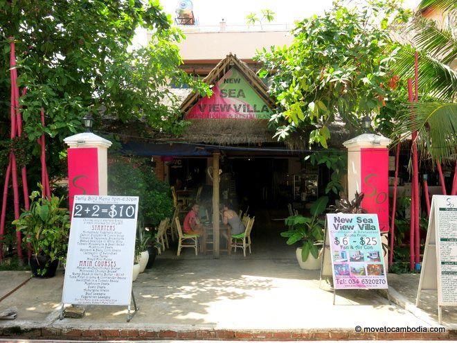 New Sea View Villa Sihanoukville