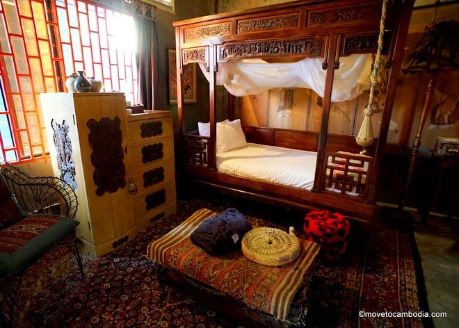 Bric a Brac Battambang Orientale room