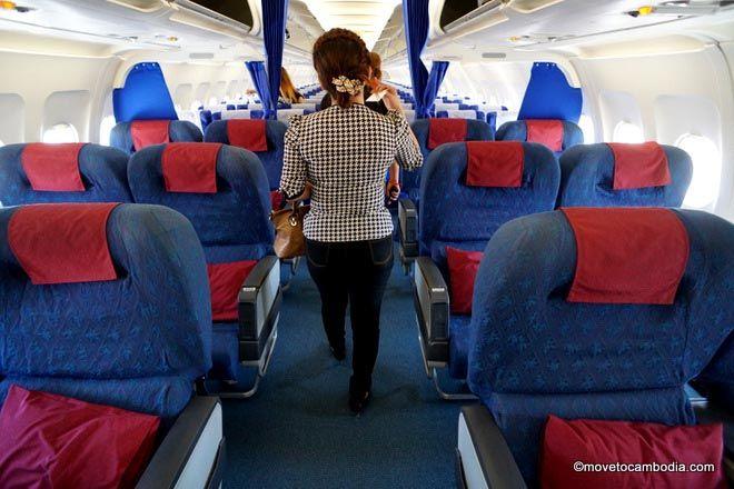 Cambodia Bassaka Air business class