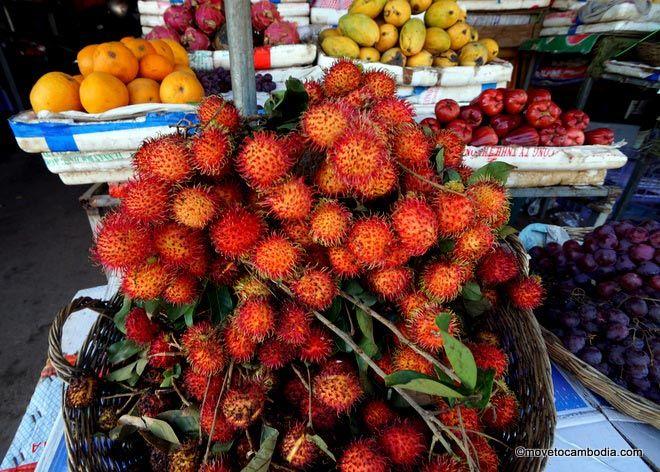 Cambodia rambutans
