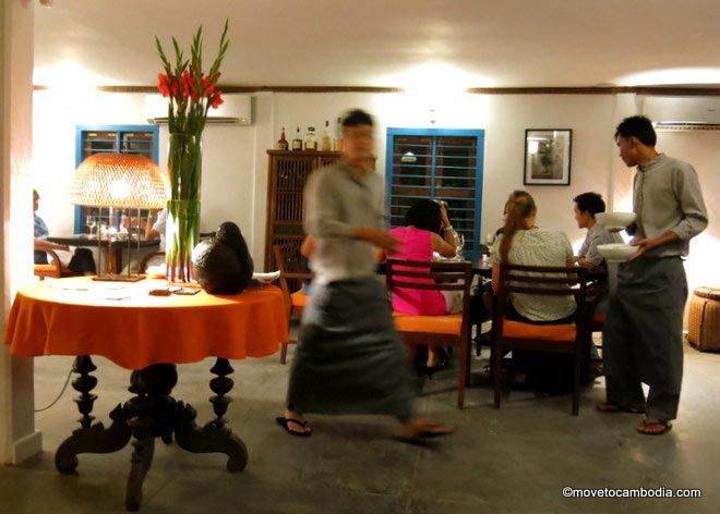 Cuisine Wat Damnak, Siem Reap