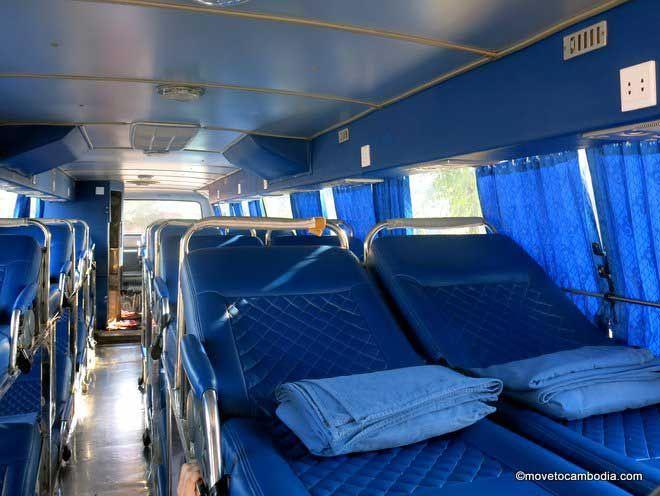 Giant Ibis night bus interior