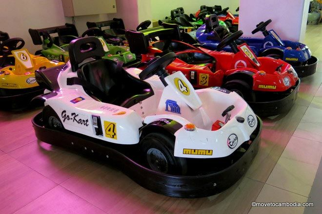 Go Karts at Kids City Phnom Penh