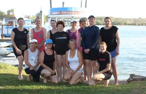 SUP Yoga group Feb 2017
