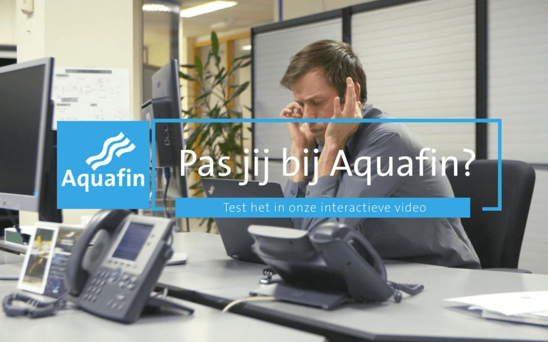 Aquafin is een krak in het aantrekken van nieuwe werknemers