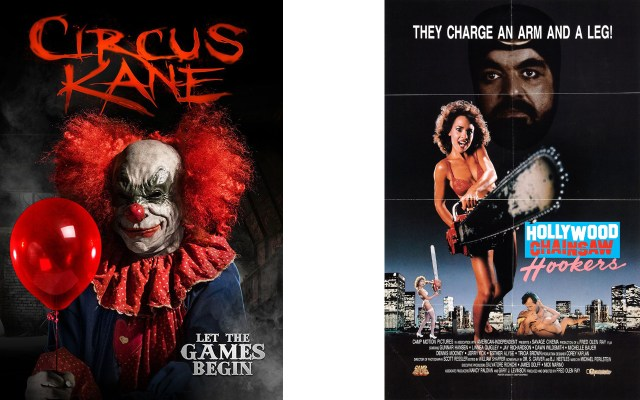 CIRCUS KANE and HOLLYWOOD CHAINSAW HOOKERS