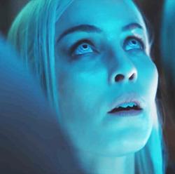 Noomi Rapace as the elf, Leilah.