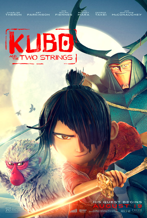 Image result for kubo and the two strings poster small