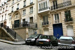 Midnight In Paris location: rue Malebranche, Paris