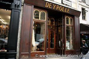 Midnight In Paris location: Maison Deyrolle, 46 rue du Bac, Paris