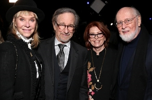 John Williams and friends at the premiere