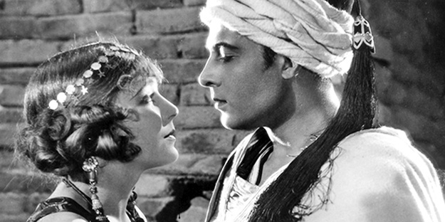 Image result for the son of the sheik 1926 duel role