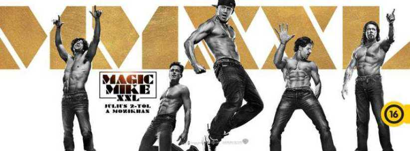 Magic MIke XXl cover