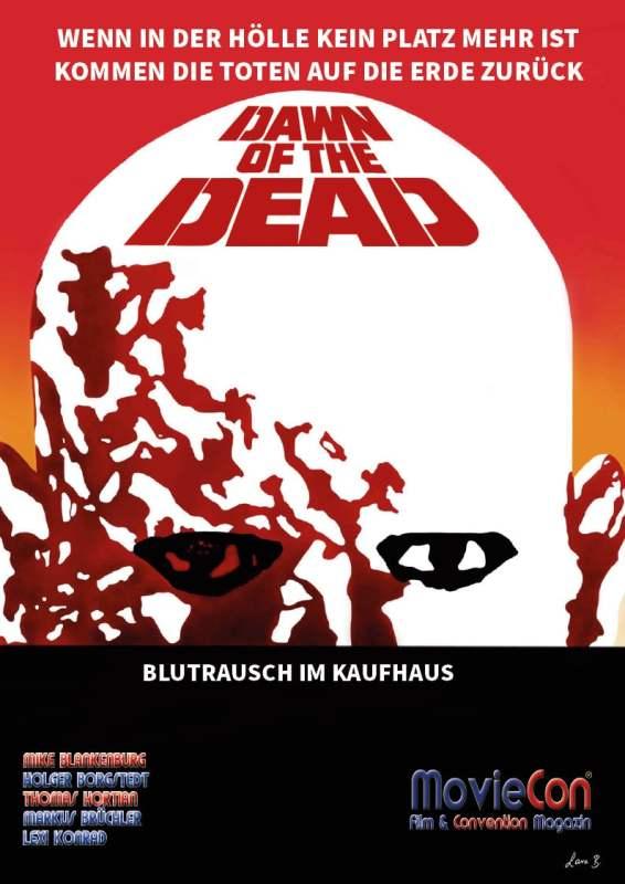 MovieCon-Buch Dawn of the Dead-Cover-Kopf