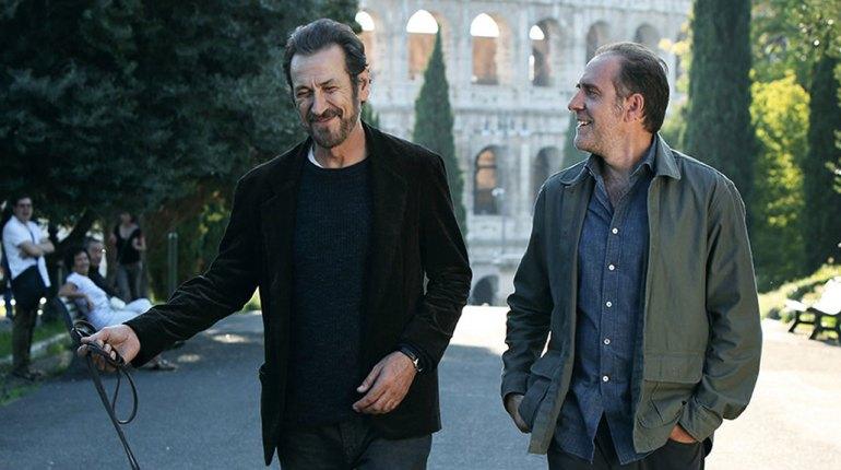 Immagine di Domani è un altro giorno, il film con Marco Giallini e Valerio Mastandrea