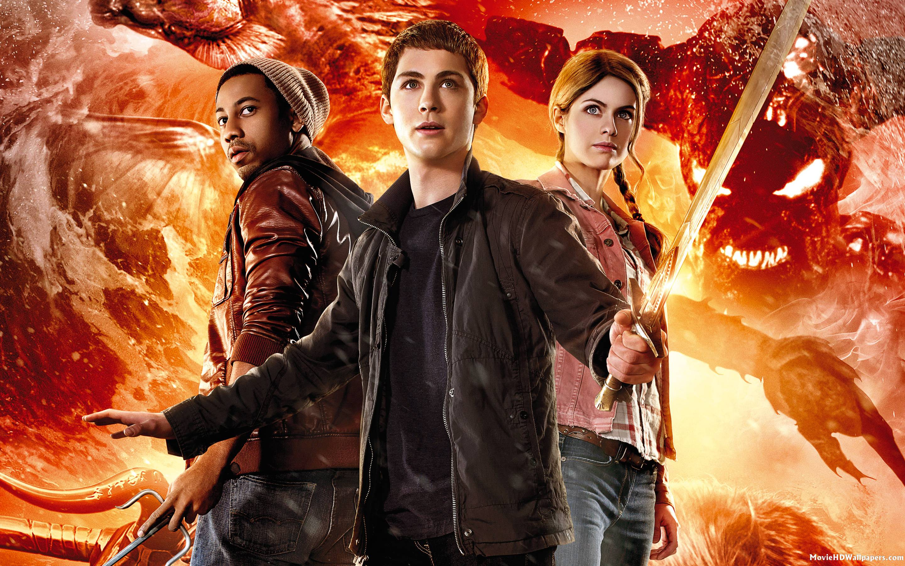 Percy Jackson - Sea of Monsters (2013) - Movie HD Wallpapers