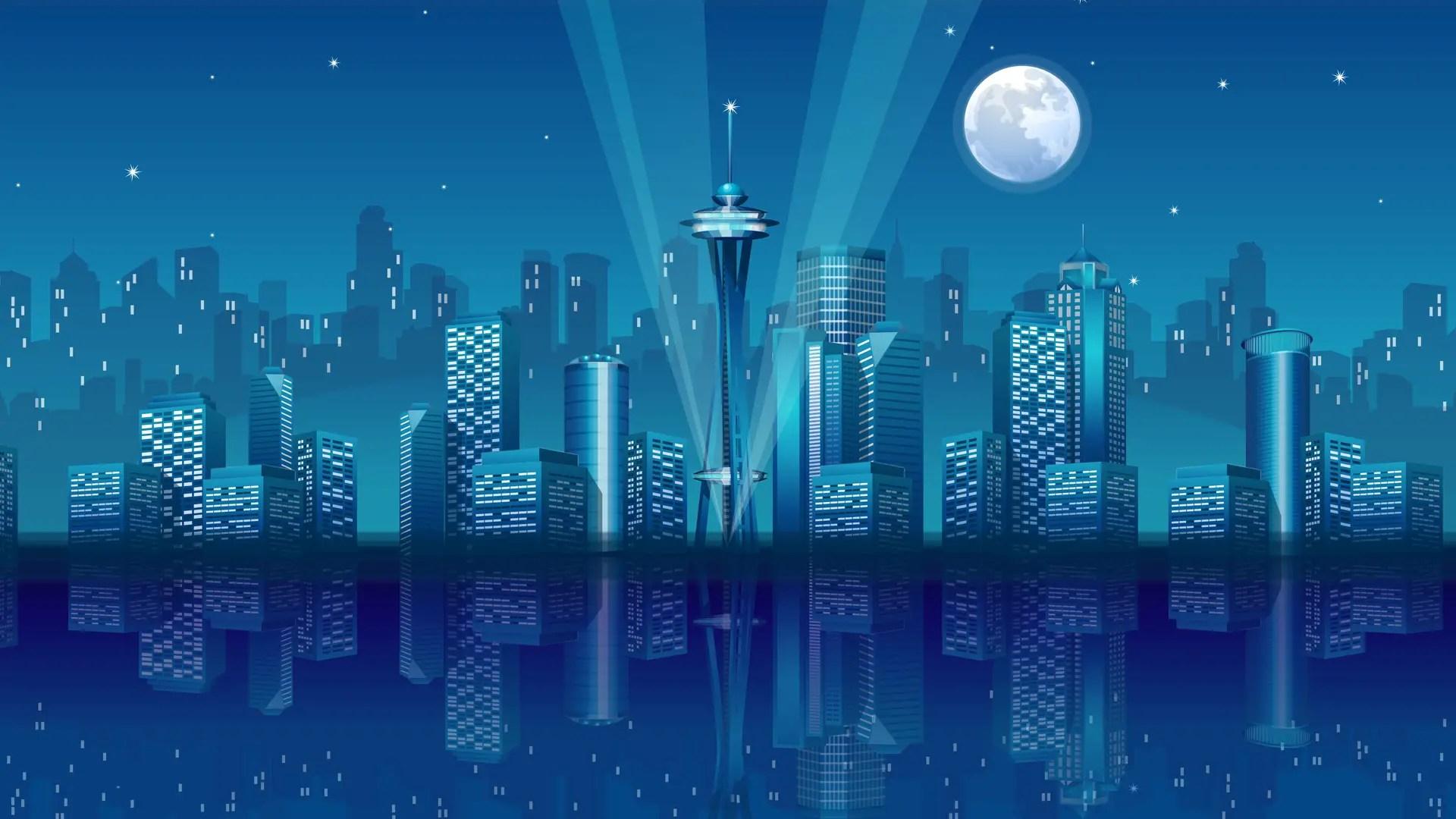 City Vector HD Wallpapers