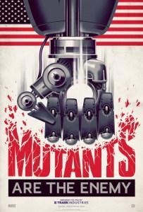 X-Men: Days Of Future Past - Sentinel Propaganda Poster 1 - Courtesy of Marvel Entertainment and 20th Century Fox