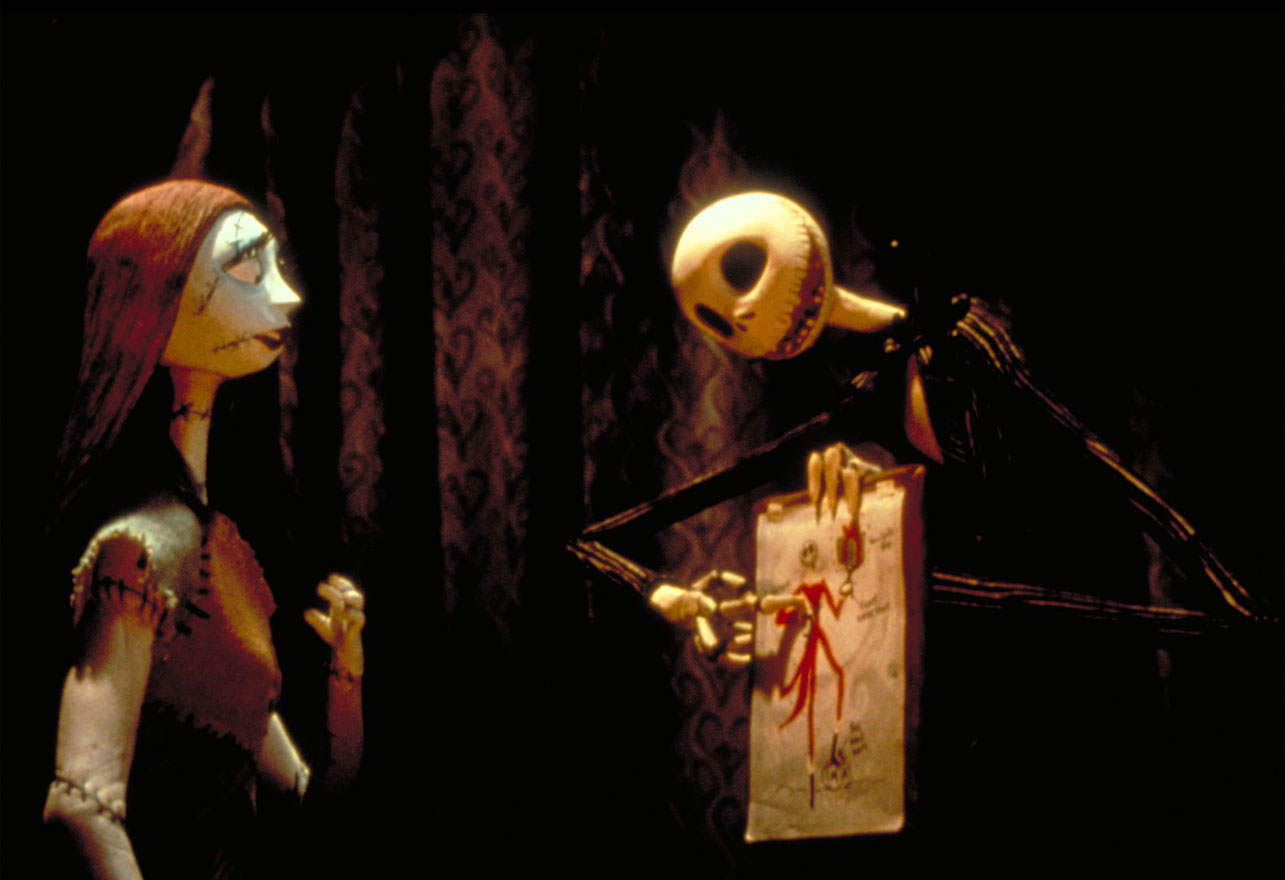 Tim Burton\'s The Nightmare Before Christmas (1993) Podcast Review ...