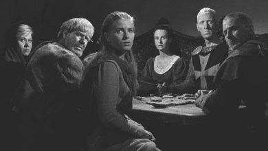 Photo of The Seventh Seal (1957) moves Bishop to King 7 to take Blu-ray