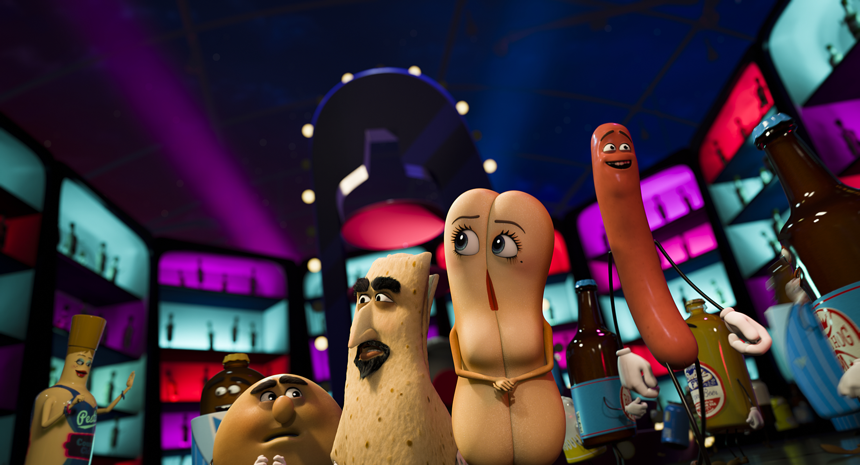Image result for sausage party poster