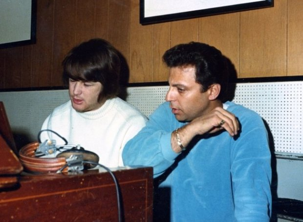 Brian Wilson and Hal Blaine in The Wrecking Crew