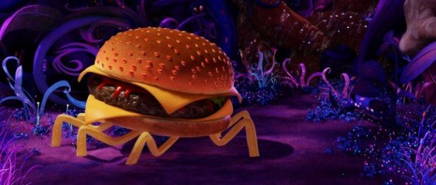 The Cheese Spider sizzles like a patty off the griddle, and has footsteps like a 4x4 being slammed into the earth just above a tiny microphone