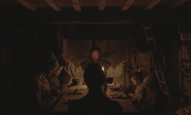 Actor Ralph Ineson plays William, the Puritan patriarch trying to maintain order in his fraying family