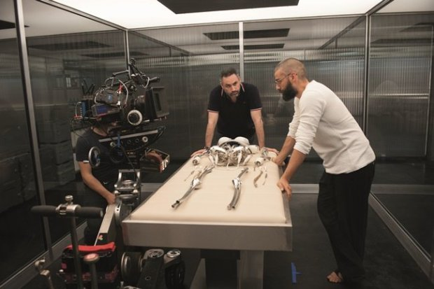 Garland and Oscar Isaac, who plays the mercurial tech genius Nathan