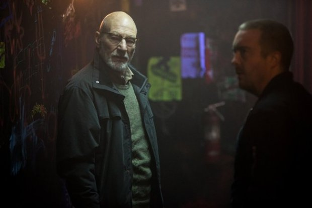 "Patrick Stewart and Blair on the ""villains'""side of the siege in Green Room"