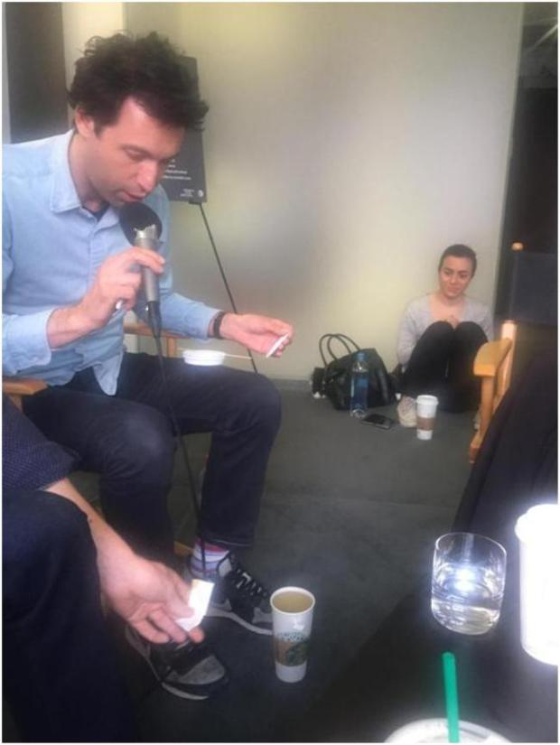 Grace and Karpovsky interview
