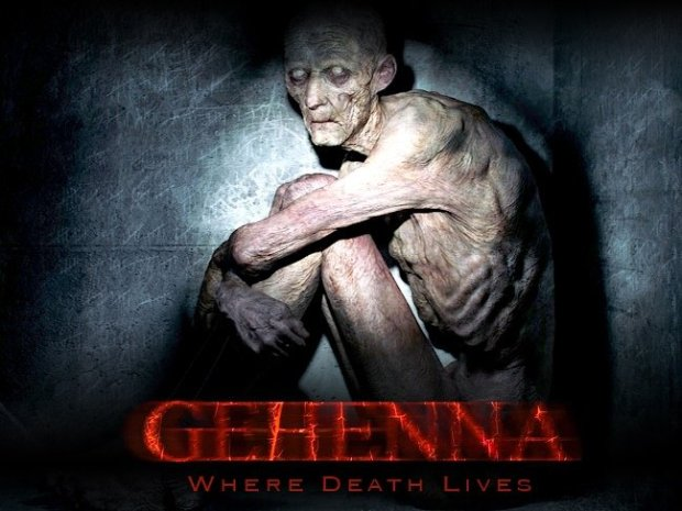 The campaign image for Gehenna: Where Death Lives features Jones