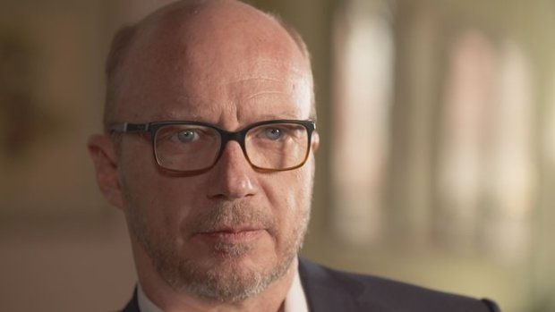 Filmmaker Paul Haggis, one of Going Clear's primary subjects and former Scientologist. Courtesy of HBO