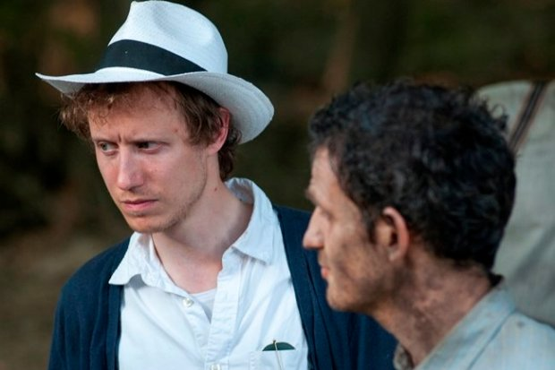 (L-R) Director and actor