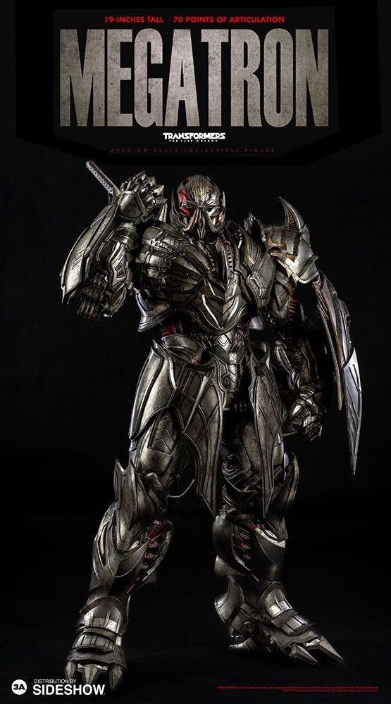 Transformers The Last Knight - Megatron Deluxe Version 1/6 Scale ThreeA - Action Figure - Movie Mania