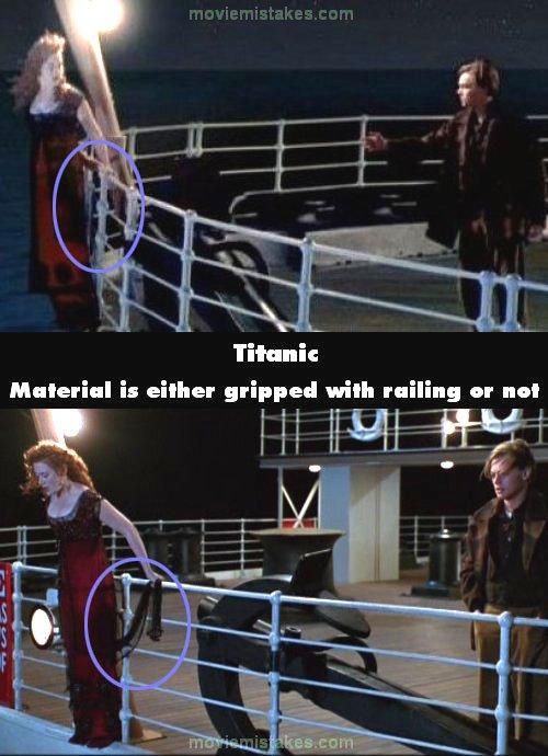 Titanic 1997 Movie Mistake Picture ID 42699