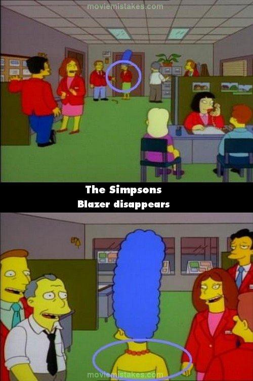 The Simpsons بعض الاخطاء في حلقات المسلسل الشهير | Xxausxx11's Blog