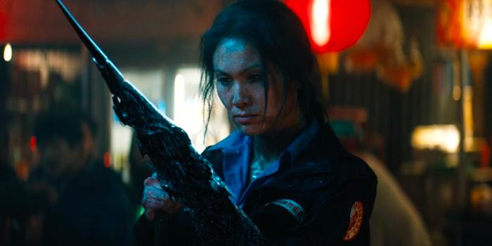 Michelle Lee als Scream