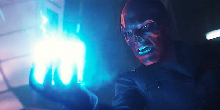 Red Skull met de Tesseract