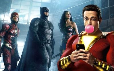Shazam! en Justice League
