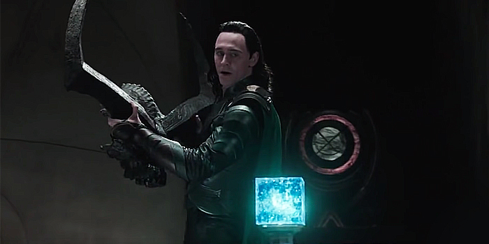 Loki steelt de Tesseract