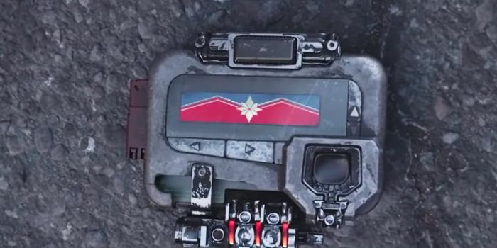 Nick Fury pieper in Avengers Infinity War