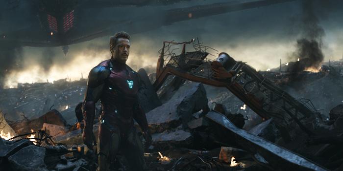 Iron Man eindgevecht in Endgame