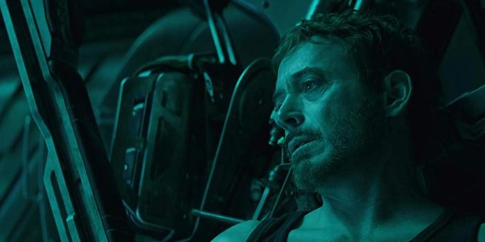 Tony Stark in de ruimte