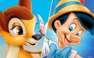 Bambi en Pinokkio