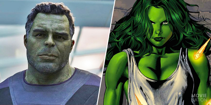 Smart-Hulk en She-Hulk