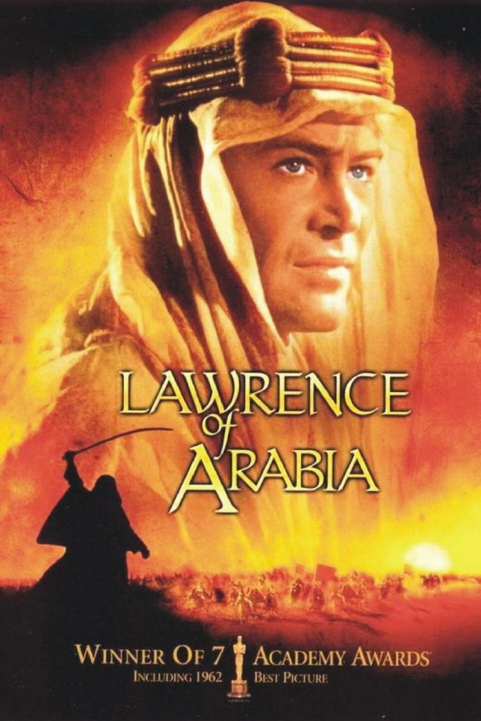 Image result for lawrence of arabia poster