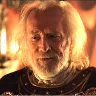 Richard Harris as MA in Gladiator